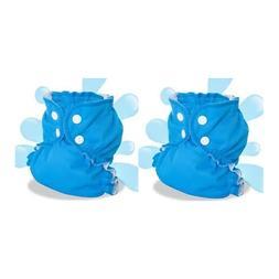 AppleCheeks Washable Swim Diaper 18-35lbs Size 2 Bondi 2 Pac