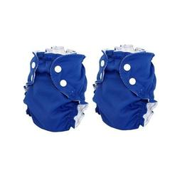 AppleCheeks Washable Swim Diaper 18-35lbs Size 2 Navy Blue 2