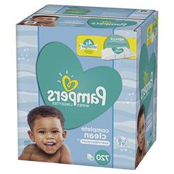 Pampers Baby Water Wipes Complete Clean Scent 10X Refill Pac
