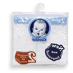 Gerber Waterproof Baby Pants, 2 Pk, Vinyl