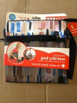 Skip Hop Waterproof Wet Dry Bag, Grab & Go, Brush Stroke 2 J