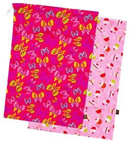 "Kushies""On The Go"" 2-Pack Wet Bag, Large, Girl Prints"