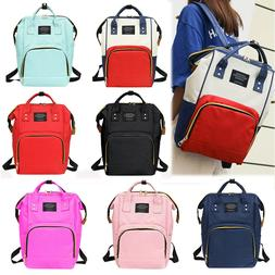 Women Mummy Baby Diaper Bag Maternity Backpack Rucksack Trav