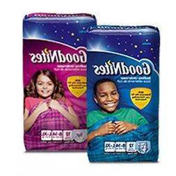 GoodNites Youth Underpants pack of 12 Size Large/XLarge Gend