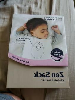 Nested Bean Zen Sack Classic - Adjustable Cotton Wearable Bl